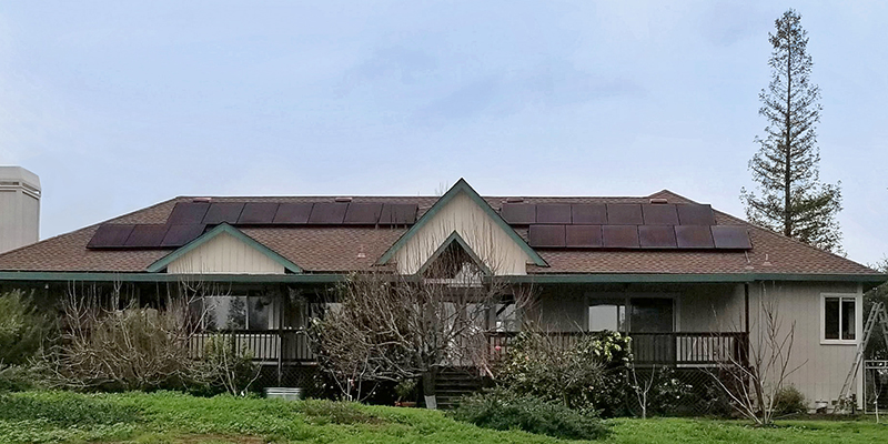 Solar Works residential project