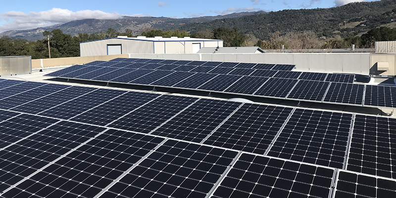 Solar Works Sonoma County commercial customers