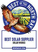 Best Solar Contractor Bohemian 2019